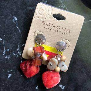 A pair of woman's earrings